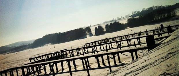 Untreusee Hof im Winter